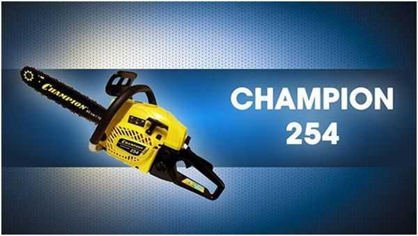 Бензопила Champion 237-16: обзор и отзывы