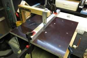 Стол для лобзика и ручного фрезера