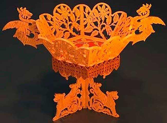 Ваза Жар-птицы — элегантный элемент интерьера