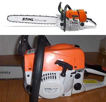 Бензопила Stihl MS-660: технические характеристики, отличия от подделки