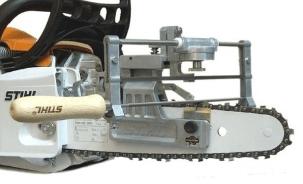 Правильная заточка цепи бензопилы: приспособления и инструкции