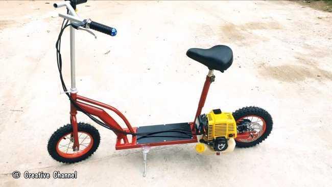 ✅ Как сделать из мопеда трицикл своими руками –