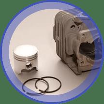 ЗАПЧАСТИ ДЛЯ ТРИММЕРА БЕНЗИНОВОГО ЗУБР КРБ-350 (ДВИГАТЕЛЬ) | Все для ремонта инструментов и оборудования —