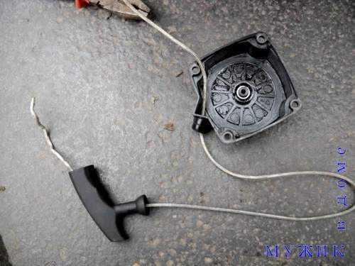 Как вставить пружину на триммер на заводилку – NZIZN.RU