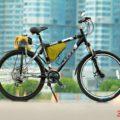 Велосипед с двигателем от триммера своими руками