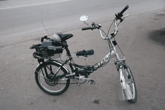 Скутер с бензиновым двигателем своими руками (33сс/4T)