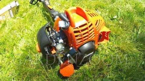 Как завести двигатель бензотриммера