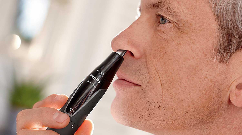 Триммер для носа: машинка для стрижки волос в ушах, какой эпилятор лучше