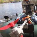 Как сделать лодочный мотор из бензинового триммера своими руками: пошаговая инструкция, материалы и инструменты