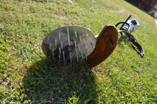 Насадка культиватор на мотокосу своими руками – О металле