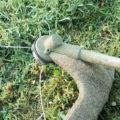 Как поменять леску на бензиновом триммере: типы катушек для бензокос, как правильно заправить и намотать струну на диск, как заменить нож на устройстве, видео