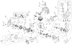 Ручные стартеры <- Запчасти к бензотриммерам и мотокосам <- Запчасти к бензоинструменту – Каталог  | РемКомплект – запчасти для ремонта электроинструмента, бензоинструмента, бытовой техники, мототехникеи