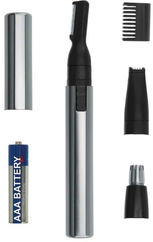 Купить триммер Wahl Micro Lithium, серебристый по низкой цене: отзывы, фото, характеристики в интернет-магазине Ozon