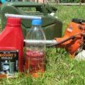 Как смешать масло с бензином для двухтактного двигателя – интернет-магазин ВсеИнструменты.ру