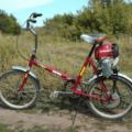 Как сделать велосипед с двигателем от триммера своими руками?