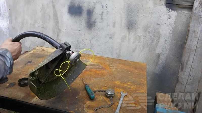 Нож для триммера своими руками (вместо катушки с леской)   Своими руками — Как сделать самому