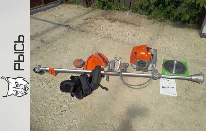 Бензиновый триммер Рысь: отзывы владельцев, технические характеристики, БТР-52, цена